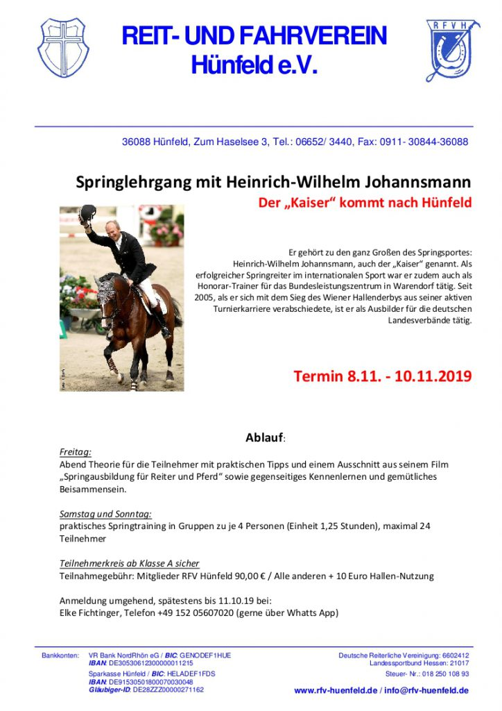 "Der ""Kaiser"" kommt nach Hünfeld"
